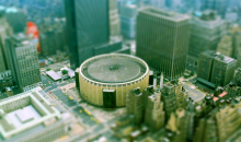 NBA in Tilt-shift