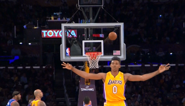 Nick-Young-Laker-missed three