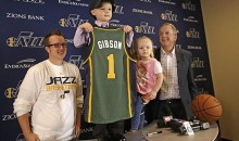 Utah Jazz sign 5yo to a one day contract